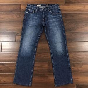 AG Mens 32 The Protege Straight Leg Denim Jeans